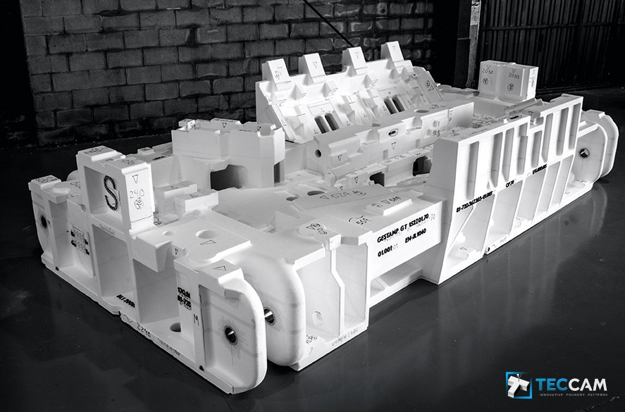 Polystyrene model Forming machine bases